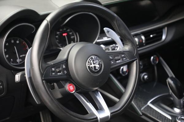 New 2019 Alfa Romeo Stelvio Quadrifoglio for sale Sold at Alfa Romeo of Westport in Westport CT 06880 17