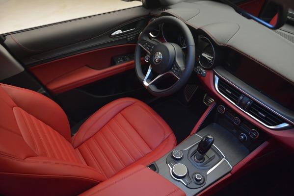 New 2019 Alfa Romeo Stelvio Ti Lusso Q4 for sale Sold at Alfa Romeo of Westport in Westport CT 06880 15