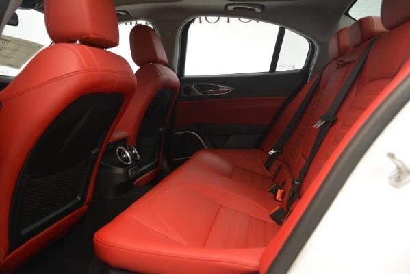 New 2019 Alfa Romeo Giulia Ti Sport Q4 for sale Sold at Alfa Romeo of Westport in Westport CT 06880 19