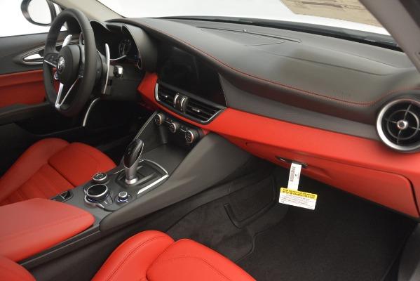 New 2019 Alfa Romeo Giulia Ti Sport Q4 for sale Sold at Alfa Romeo of Westport in Westport CT 06880 22