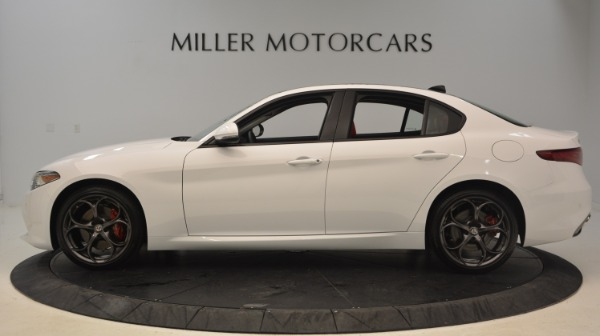 New 2019 Alfa Romeo Giulia Ti Sport Q4 for sale Sold at Alfa Romeo of Westport in Westport CT 06880 3