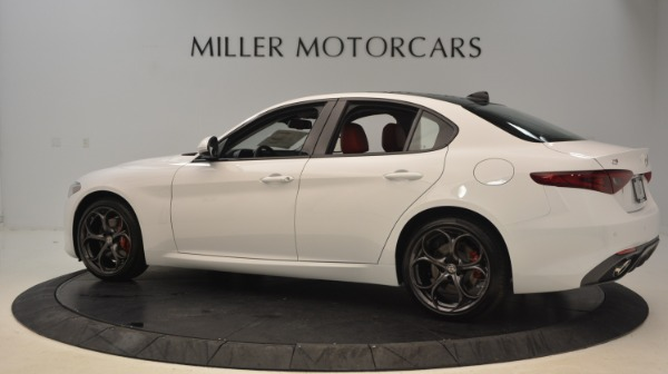 New 2019 Alfa Romeo Giulia Ti Sport Q4 for sale Sold at Alfa Romeo of Westport in Westport CT 06880 4