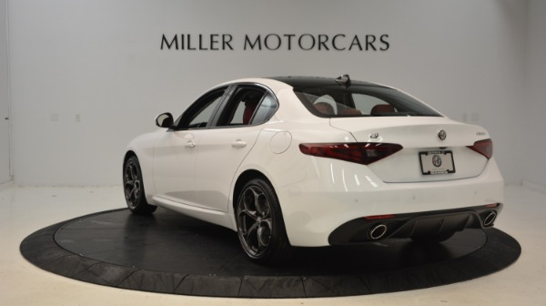 New 2019 Alfa Romeo Giulia Ti Sport Q4 for sale Sold at Alfa Romeo of Westport in Westport CT 06880 5