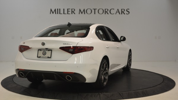 New 2019 Alfa Romeo Giulia Ti Sport Q4 for sale Sold at Alfa Romeo of Westport in Westport CT 06880 7