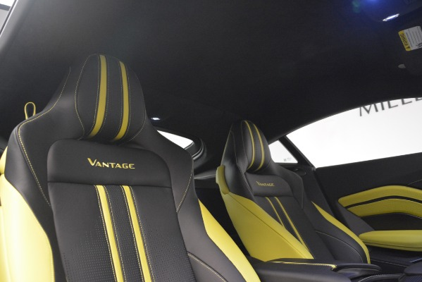Used 2019 Aston Martin Vantage Coupe for sale Sold at Alfa Romeo of Westport in Westport CT 06880 17