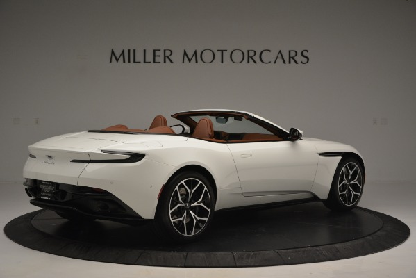 Used 2019 Aston Martin DB11 V8 Convertible for sale Sold at Alfa Romeo of Westport in Westport CT 06880 8