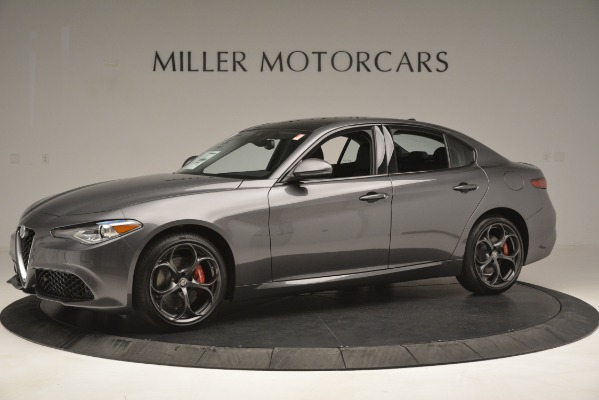 New 2019 Alfa Romeo Giulia Ti Sport Q4 for sale Sold at Alfa Romeo of Westport in Westport CT 06880 2