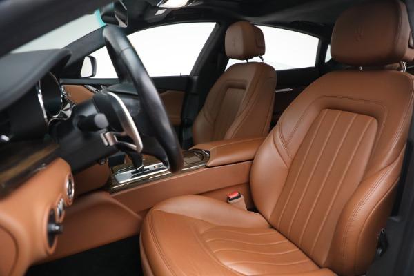 Used 2015 Maserati Quattroporte S Q4 for sale Sold at Alfa Romeo of Westport in Westport CT 06880 13