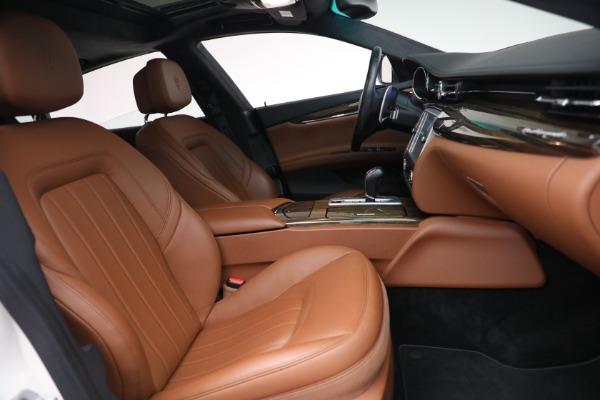 Used 2015 Maserati Quattroporte S Q4 for sale Sold at Alfa Romeo of Westport in Westport CT 06880 20