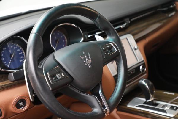 Used 2015 Maserati Quattroporte S Q4 for sale Sold at Alfa Romeo of Westport in Westport CT 06880 23
