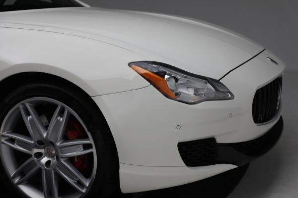 Used 2015 Maserati Quattroporte S Q4 for sale Sold at Alfa Romeo of Westport in Westport CT 06880 28