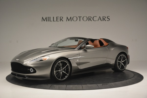 Used 2018 Aston Martin Zagato Speedster Convertible for sale Sold at Alfa Romeo of Westport in Westport CT 06880 1