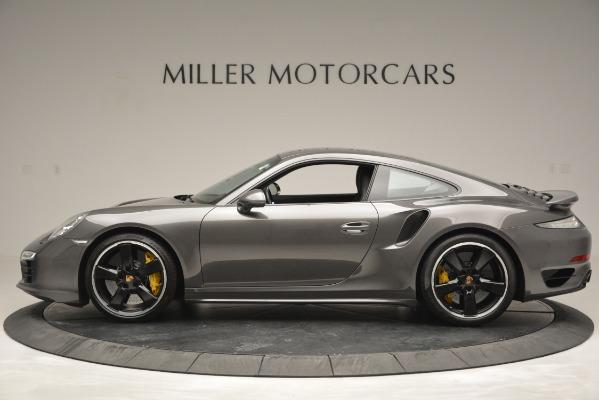 Used 2015 Porsche 911 Turbo S for sale Sold at Alfa Romeo of Westport in Westport CT 06880 3