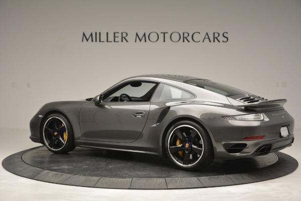 Used 2015 Porsche 911 Turbo S for sale Sold at Alfa Romeo of Westport in Westport CT 06880 4