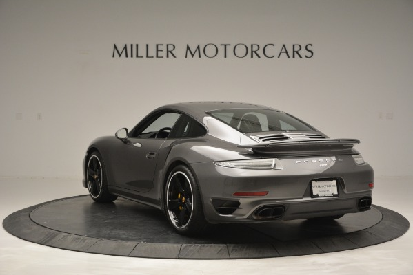 Used 2015 Porsche 911 Turbo S for sale Sold at Alfa Romeo of Westport in Westport CT 06880 5