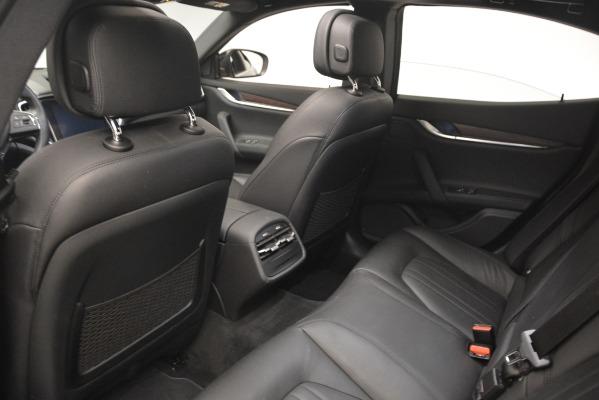 Used 2018 Maserati Ghibli S Q4 for sale Sold at Alfa Romeo of Westport in Westport CT 06880 22