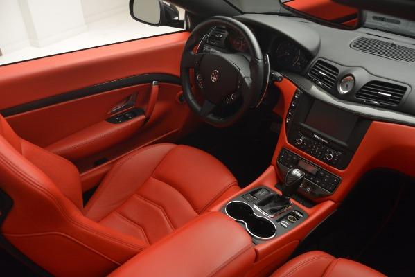 Used 2015 Maserati GranTurismo Sport for sale Sold at Alfa Romeo of Westport in Westport CT 06880 27