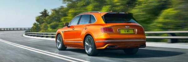 New 2020 Bentley Bentayga Speed for sale Sold at Alfa Romeo of Westport in Westport CT 06880 3
