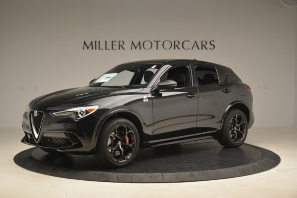 New 2019 Alfa Romeo Stelvio Quadrifoglio for sale $86,440 at Alfa Romeo of Westport in Westport CT 06880 2