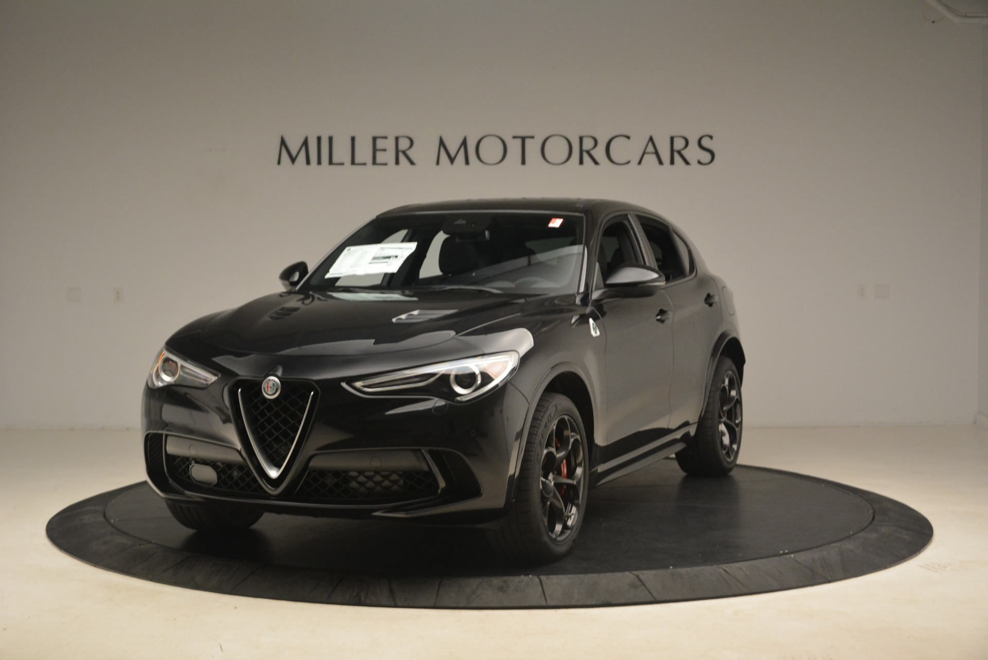 New 2019 Alfa Romeo Stelvio Quadrifoglio for sale $86,440 at Alfa Romeo of Westport in Westport CT 06880 1