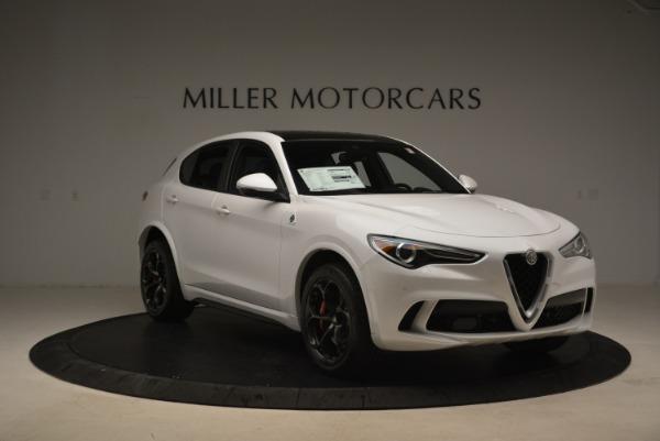 Used 2019 Alfa Romeo Stelvio Quadrifoglio for sale Sold at Alfa Romeo of Westport in Westport CT 06880 12
