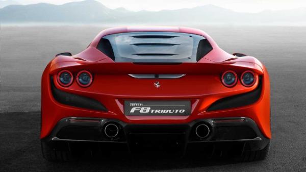 New 2020 Ferrari F8 Tributo for sale Call for price at Alfa Romeo of Westport in Westport CT 06880 5
