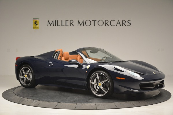 Used 2014 Ferrari 458 Spider for sale Sold at Alfa Romeo of Westport in Westport CT 06880 10