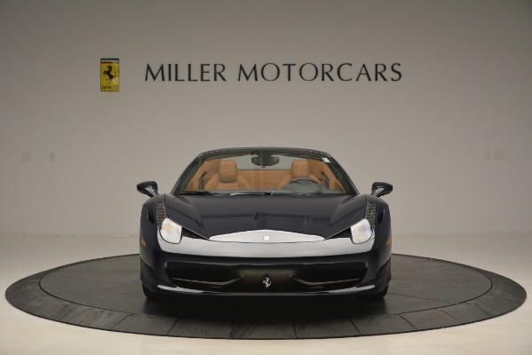 Used 2014 Ferrari 458 Spider for sale Sold at Alfa Romeo of Westport in Westport CT 06880 12
