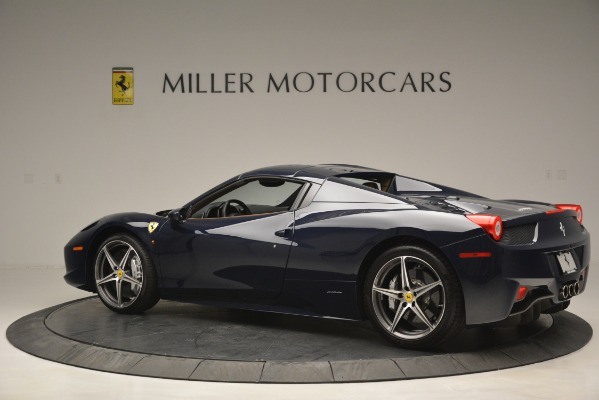 Used 2014 Ferrari 458 Spider for sale Sold at Alfa Romeo of Westport in Westport CT 06880 16