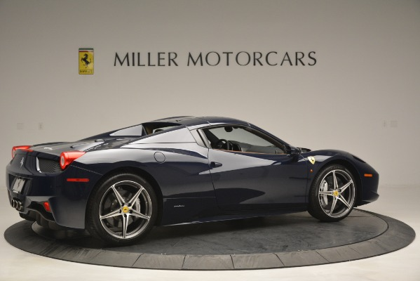 Used 2014 Ferrari 458 Spider for sale Sold at Alfa Romeo of Westport in Westport CT 06880 20