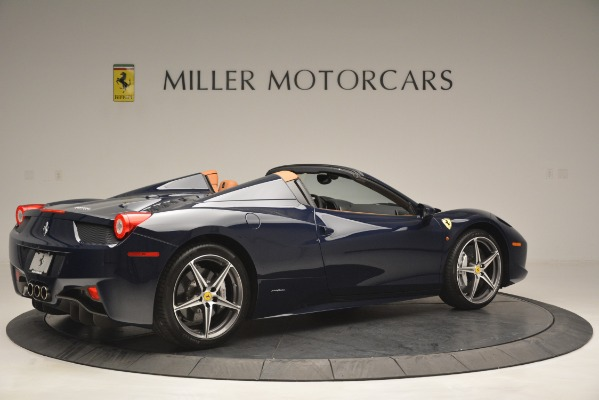 Used 2014 Ferrari 458 Spider for sale Sold at Alfa Romeo of Westport in Westport CT 06880 8