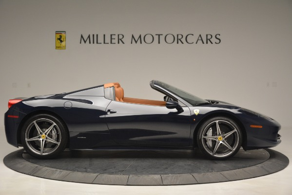 Used 2014 Ferrari 458 Spider for sale Sold at Alfa Romeo of Westport in Westport CT 06880 9