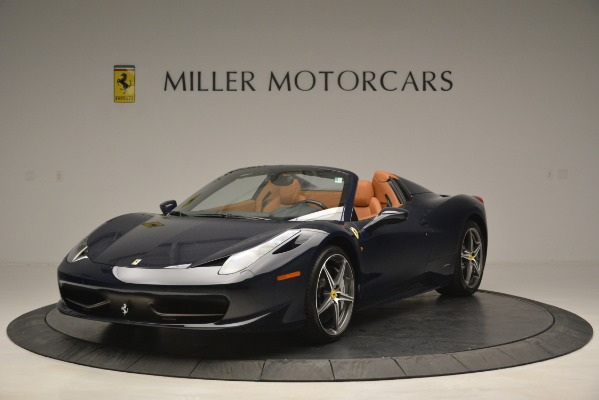 Used 2014 Ferrari 458 Spider for sale Sold at Alfa Romeo of Westport in Westport CT 06880 1