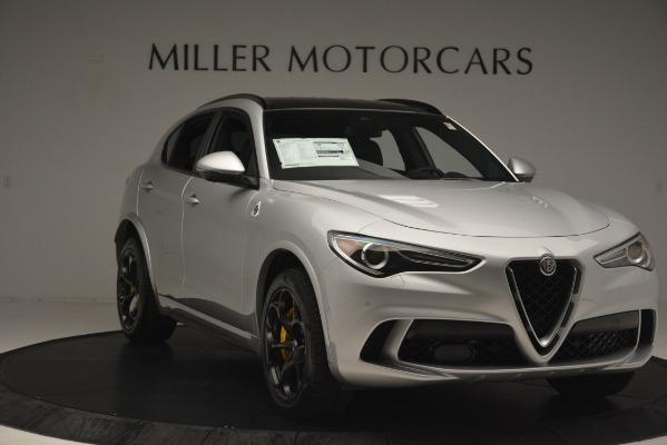 New 2019 Alfa Romeo Stelvio Quadrifoglio for sale $86,440 at Alfa Romeo of Westport in Westport CT 06880 11