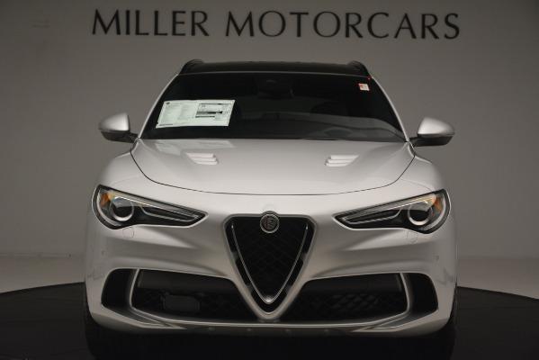 New 2019 Alfa Romeo Stelvio Quadrifoglio for sale $86,440 at Alfa Romeo of Westport in Westport CT 06880 12