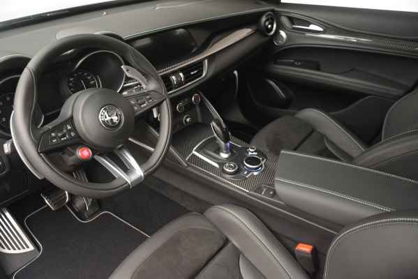 New 2019 Alfa Romeo Stelvio Quadrifoglio for sale $86,440 at Alfa Romeo of Westport in Westport CT 06880 13