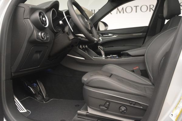 New 2019 Alfa Romeo Stelvio Quadrifoglio for sale $86,440 at Alfa Romeo of Westport in Westport CT 06880 14