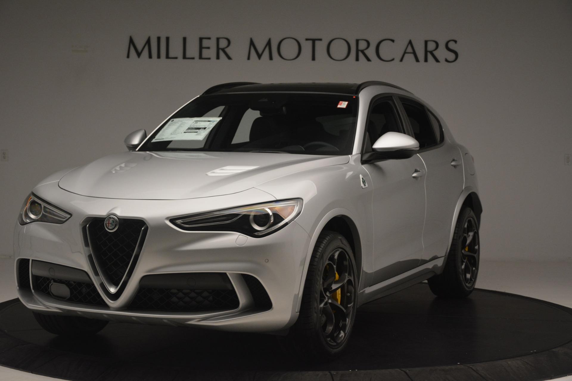 New 2019 Alfa Romeo Stelvio Quadrifoglio for sale $86,440 at Alfa Romeo of Westport in Westport CT 06880 1