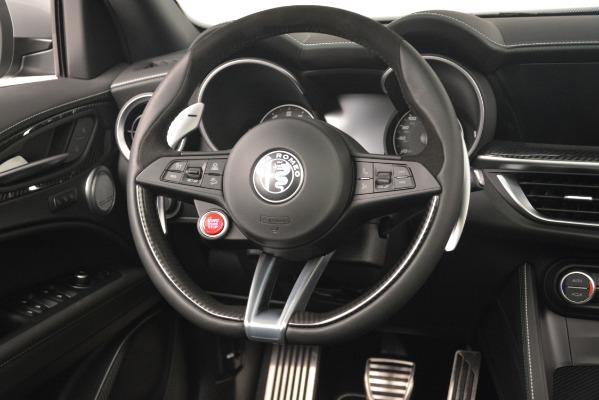 New 2019 Alfa Romeo Stelvio Quadrifoglio for sale Sold at Alfa Romeo of Westport in Westport CT 06880 16