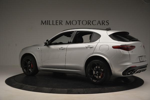 New 2019 Alfa Romeo Stelvio Quadrifoglio for sale Sold at Alfa Romeo of Westport in Westport CT 06880 4
