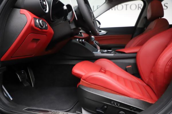 New 2019 Alfa Romeo Giulia Ti Sport Q4 for sale $52,340 at Alfa Romeo of Westport in Westport CT 06880 14