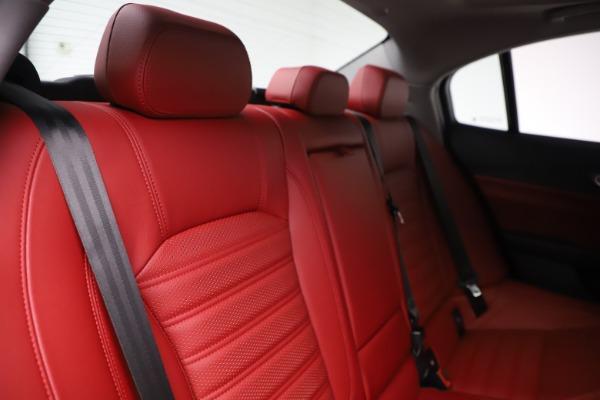 New 2019 Alfa Romeo Giulia Ti Sport Q4 for sale $52,340 at Alfa Romeo of Westport in Westport CT 06880 26