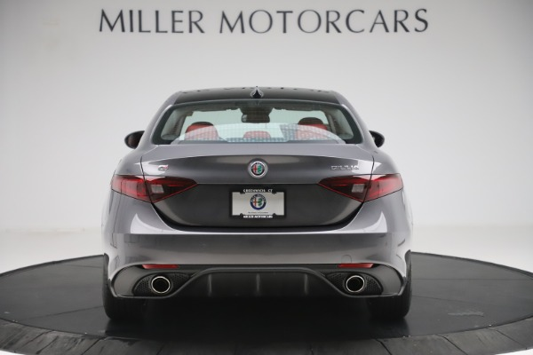 New 2019 Alfa Romeo Giulia Ti Sport Q4 for sale Sold at Alfa Romeo of Westport in Westport CT 06880 6