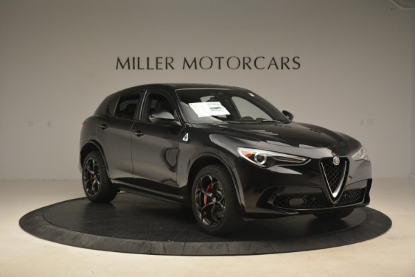 New 2019 Alfa Romeo Stelvio Quadrifoglio for sale $86,440 at Alfa Romeo of Westport in Westport CT 06880 11
