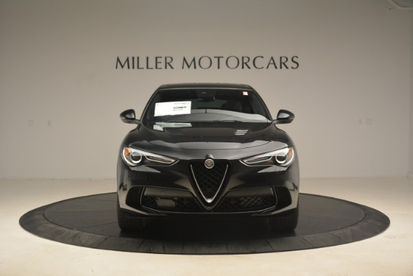 New 2019 Alfa Romeo Stelvio Quadrifoglio for sale $86,440 at Alfa Romeo of Westport in Westport CT 06880 12