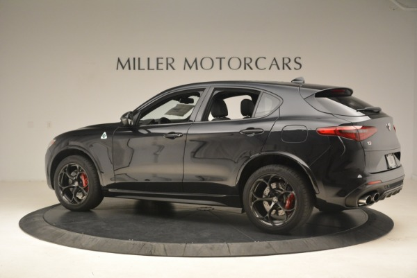 New 2019 Alfa Romeo Stelvio Quadrifoglio for sale $86,440 at Alfa Romeo of Westport in Westport CT 06880 4
