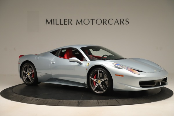 Used 2015 Ferrari 458 Italia for sale $215,900 at Alfa Romeo of Westport in Westport CT 06880 10