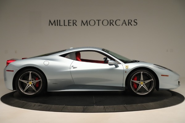 Used 2015 Ferrari 458 Italia for sale $215,900 at Alfa Romeo of Westport in Westport CT 06880 9