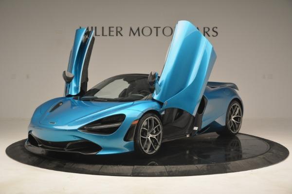 New 2019 McLaren 720S Spider for sale $399,030 at Alfa Romeo of Westport in Westport CT 06880 13