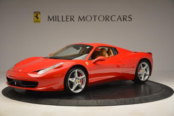 Used 2013 Ferrari 458 Spider for sale Sold at Alfa Romeo of Westport in Westport CT 06880 14